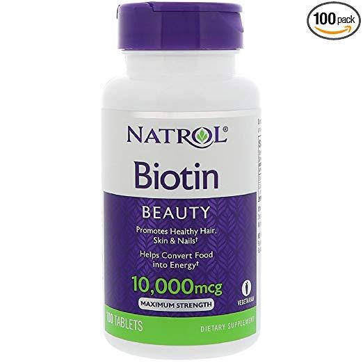 Biotin Natrol 10000 mg