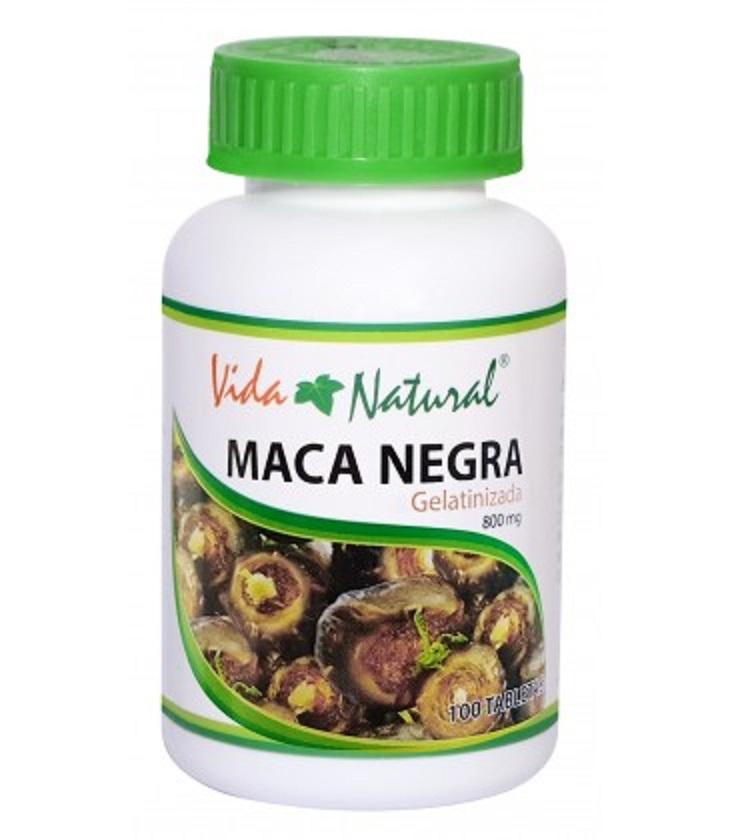 Maca Negra Vida Natural gelatinizada